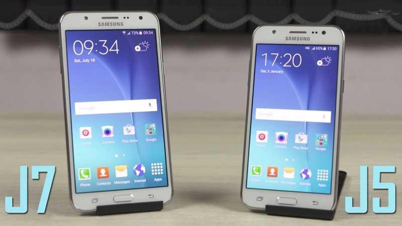 Diferencias entre Samsung J5 y J7 Prime