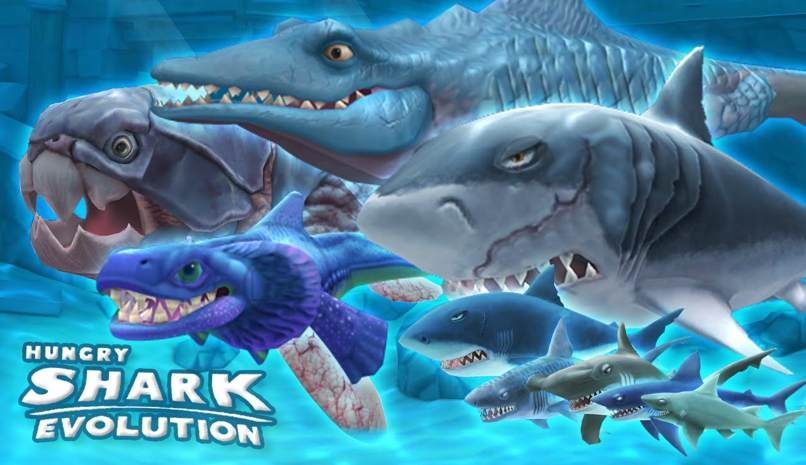 trucos nuevos hungry shark evolution