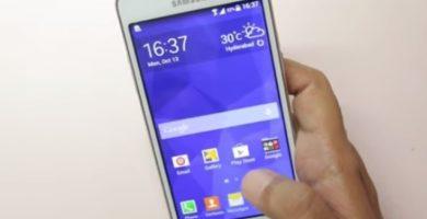 hacer una captura de pantalla en el Samsung Grand Prime