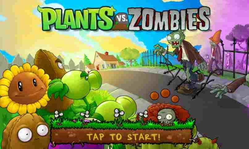 zombies atacan plantas