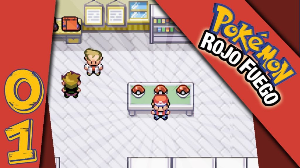 descargar pokemon rojo fuego rom android