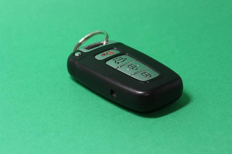 control remoto de vehiculo configurado