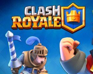 logo principal del juego clash royale