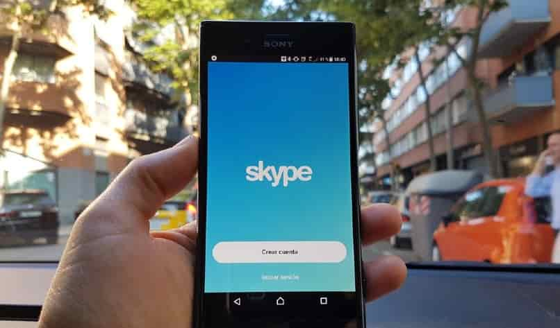 aplicacion skype android