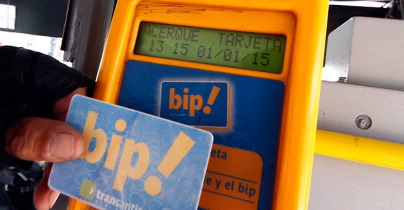 Validador de tarjetas bip