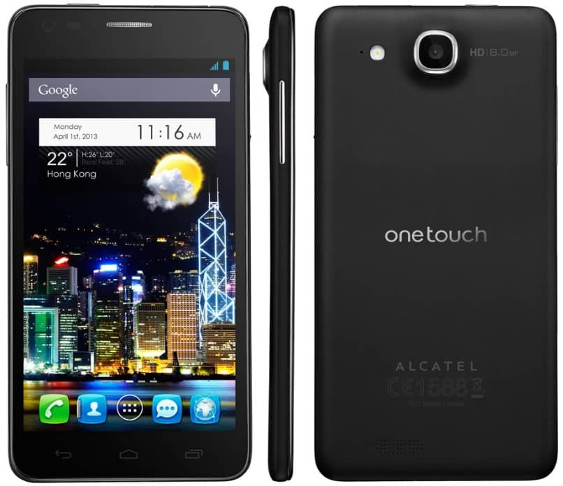 alcatel one touch android