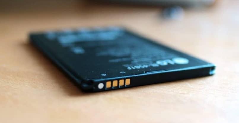puntos negativo bateria