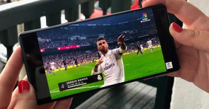 jugasdas de futbol en aplicaciones para moviles