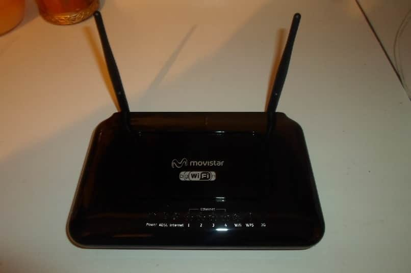 router modem movistar
