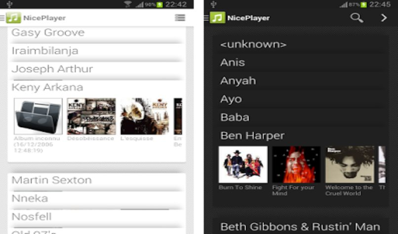 app nice player android