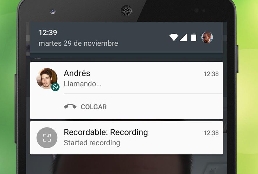 grabador de llamadas para espiar android