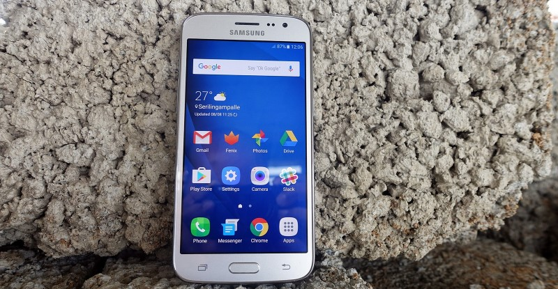 activar el giroscopio en el Samsung J2