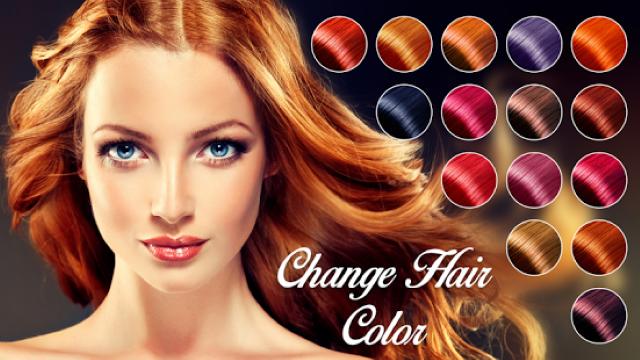 Aplicaciones para cambiar el color del cabello