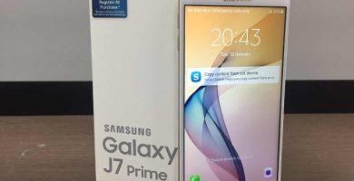 borrar las aplicaciones preinstaladas del Galaxy J7 Prime