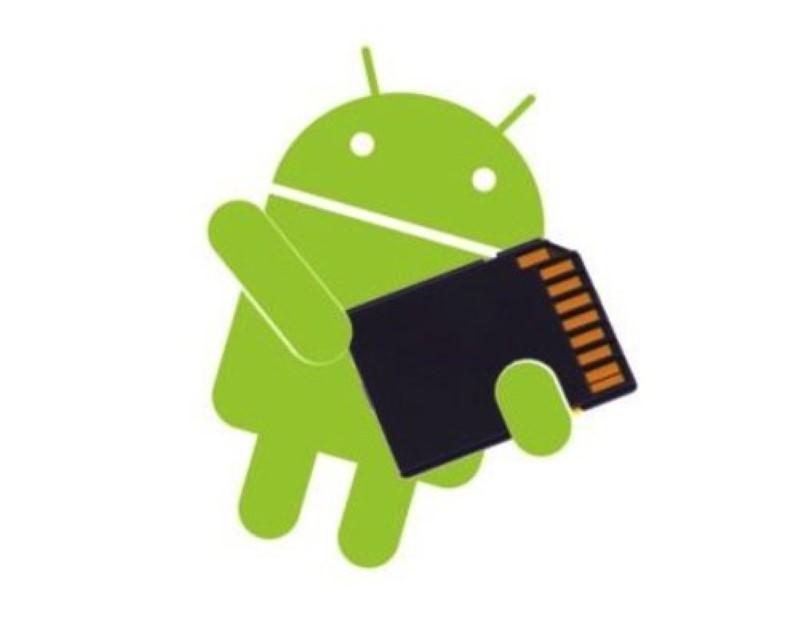 cambiar el almacenamiento predeterminado en Android