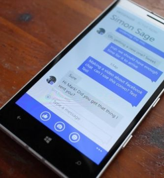 cambiar el nombre en Messenger de Windows Phone