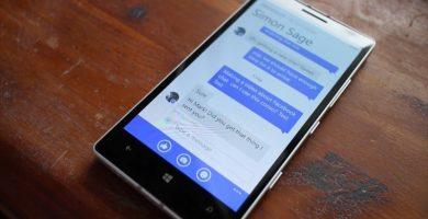 cambiar el nombre en Messenger de Windows Phone
