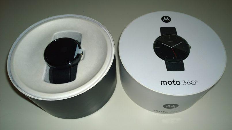 smart watch negro motorola 360
