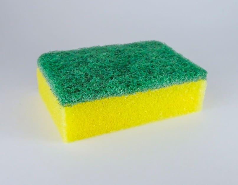 esponja de lavar trastes