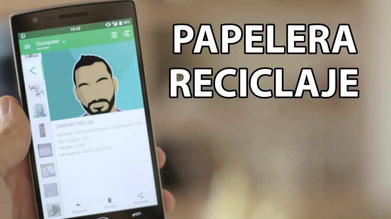 recuperar archivos del dispositivo movil celular
