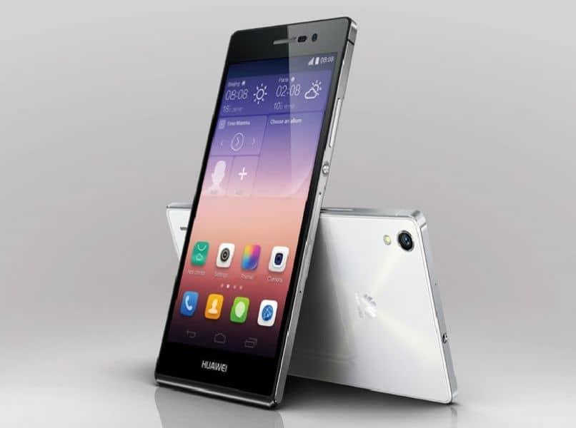 perfiles movil android color gris fondo claro