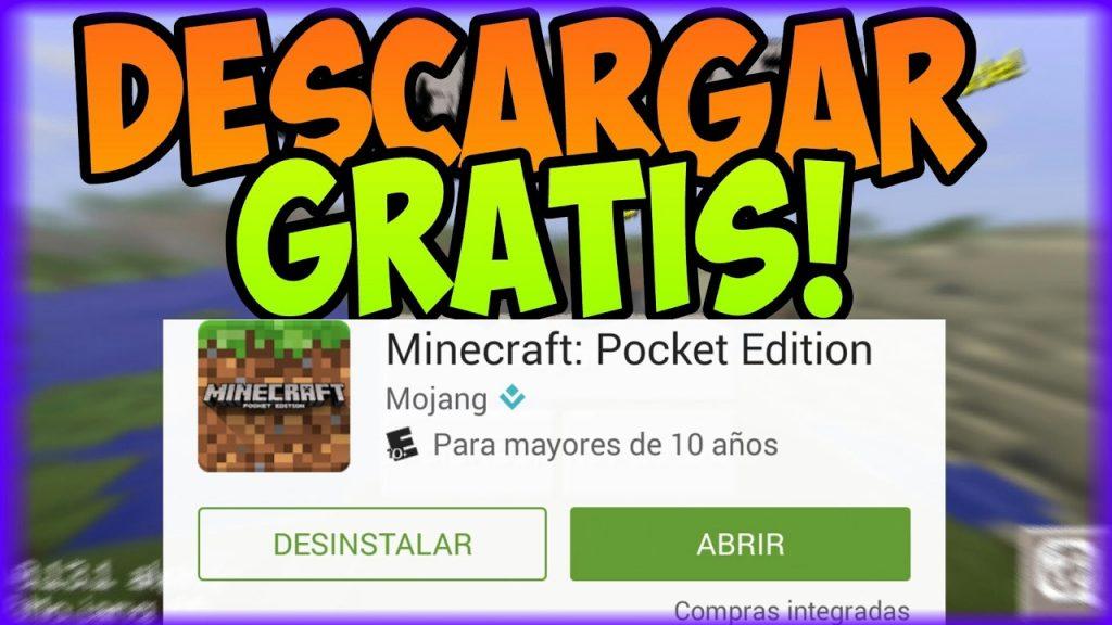 Como Descargar Minecraft Pocket Edition Gratis Mira Como Hacerlo
