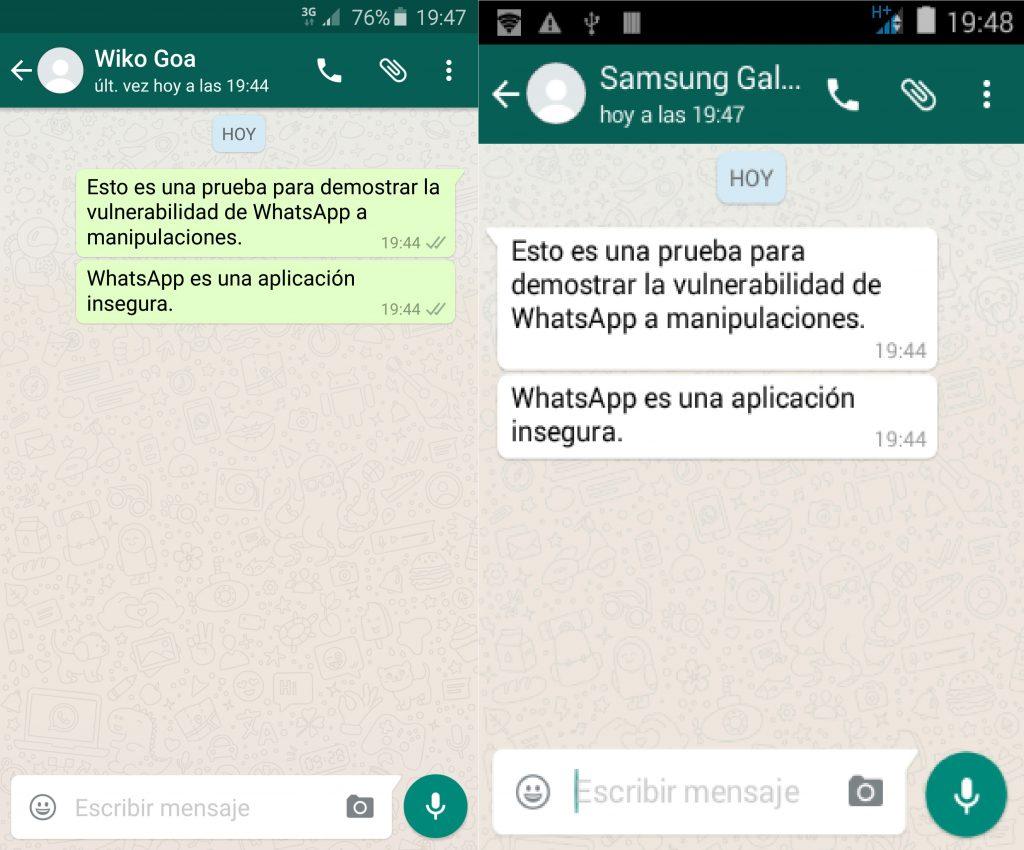 ver mensajes bloqueados whatsapp