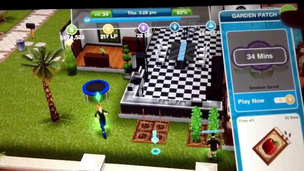 dinero gratis en sims free play