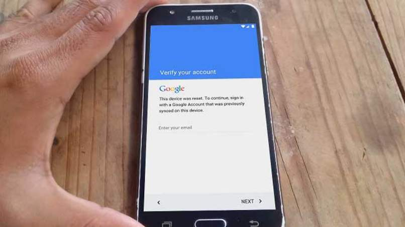 quitar cuenta gmail samsung modelo j7