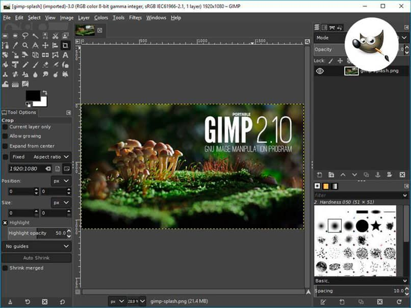 GIMP es muy parecido a Photoshop