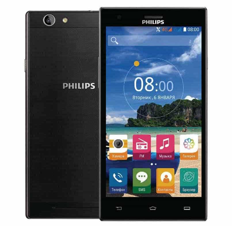 equipo android philips