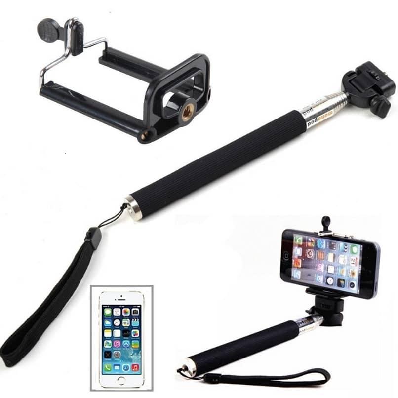 configurar y ajustar bastos selfie en un iphone