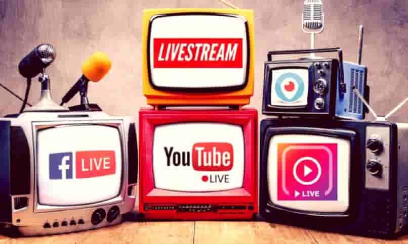 redes sociales con servicio streaming