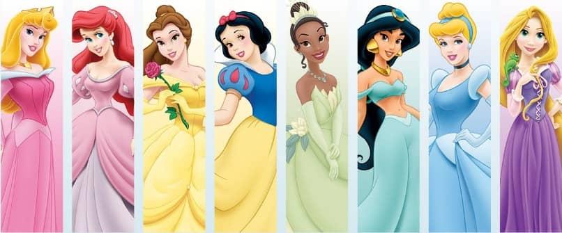 imagen de las princesas de disney