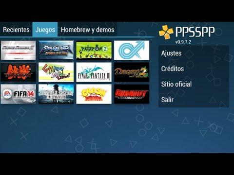 descargar juegos de ppsspp android