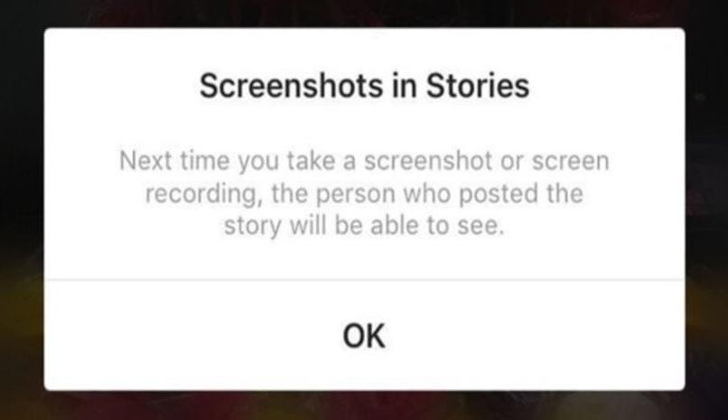 realizar capture pantalla instagram