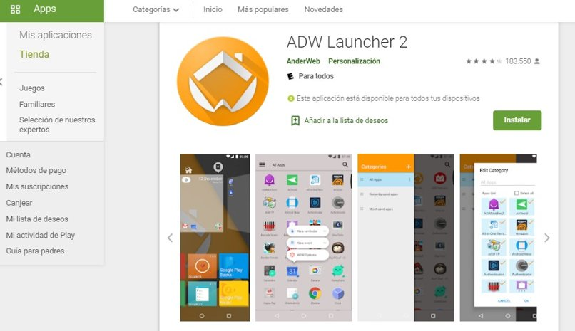 launchers favoritos android