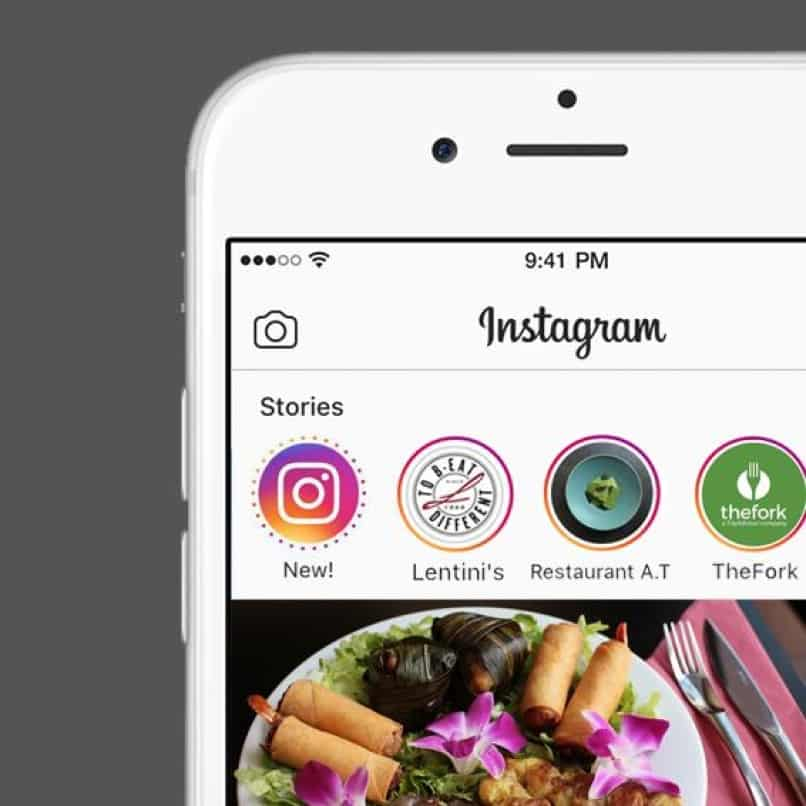 historias de instagram en iphone