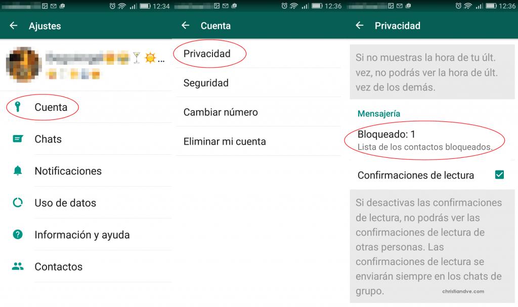 Descubre como bloquear los contactos en Whatsapp sin que nadie se entere
