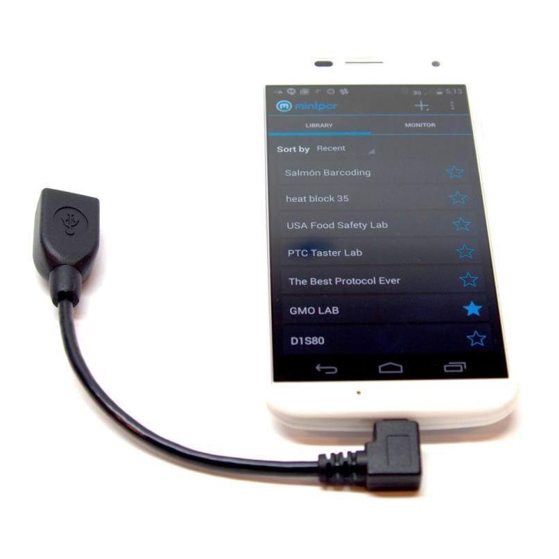 android con adaptador usb otg