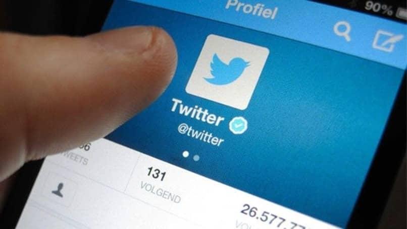 perfil de twitter en movil
