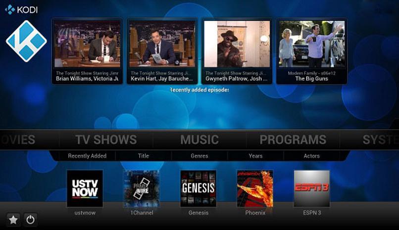 usar kodi tv box