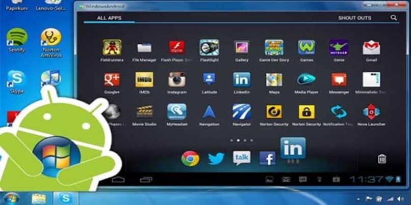 utilizar emulador aplicaciones plataforma