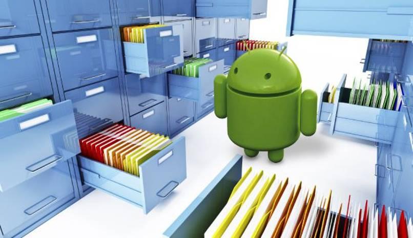 obtener archivos borrados android