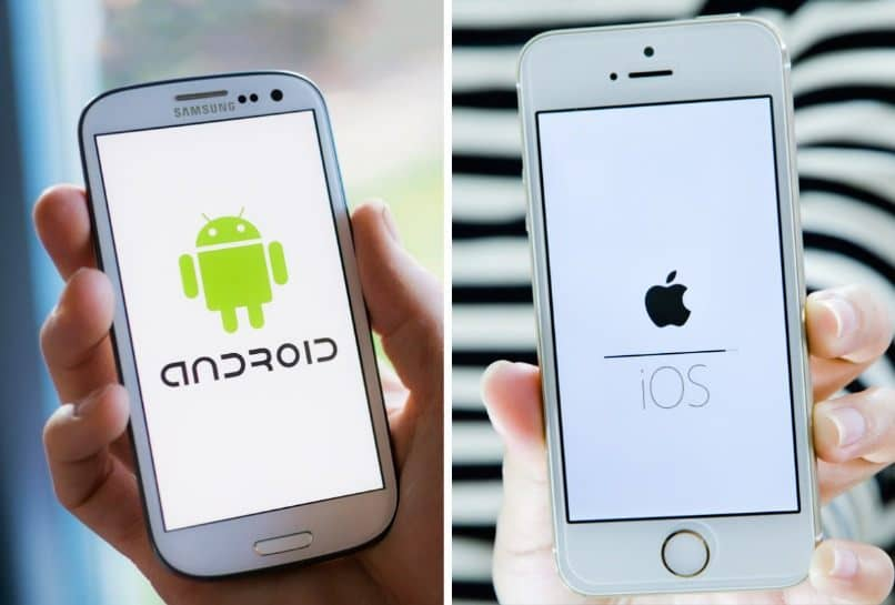 ios iphone vs samsung android smartphones
