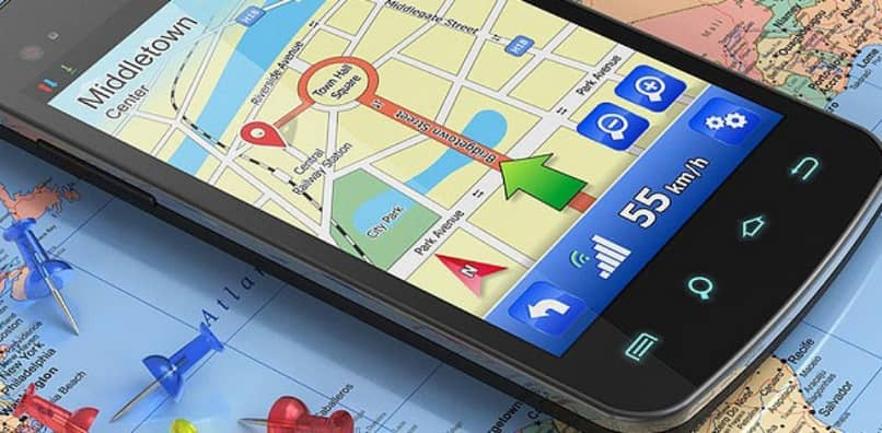 movil android con ubicacion