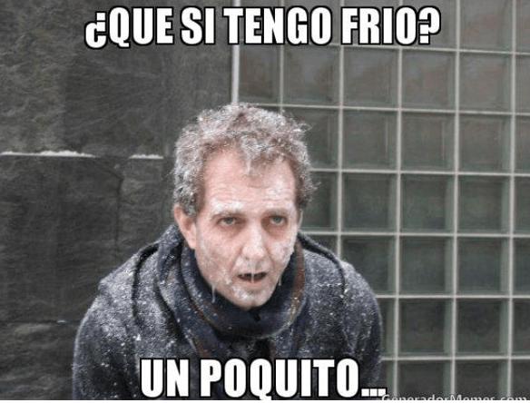 Memes Y Frases De Frío Para La Llegada Del Invierno Mira