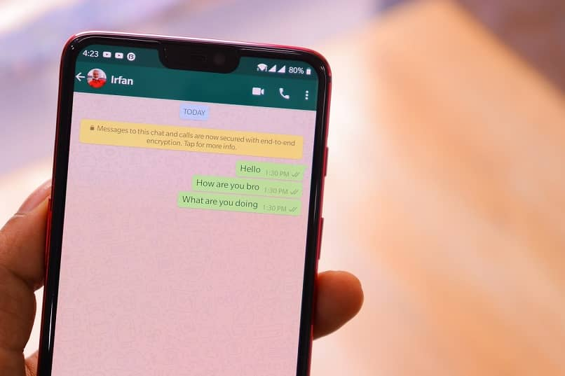 metodos para recuperar un mensaje eliminado de un chat de whatsapp