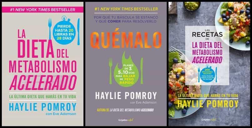 serie de libros de dieta