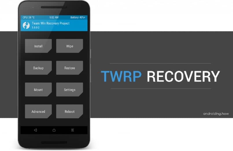 herramienta twrp recovery